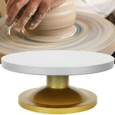 Metal Machine Pottery Wheel Rotating Table Turntable Clay Modeling Sculptur I3p9