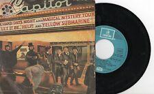 "THE BEATLES - The Beatles' Movie Medley, SG 7"" SPAIN 1982"