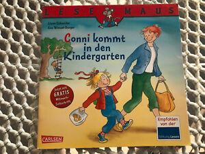 Conni kommt in den Kindergarten - Lesemaus - Kinderbuch