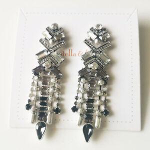 New Stella&Dot Drop Dangle Statement Earrings Gift Vintage Women Party Jewelry