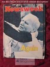 NEWSWEEK Magazine May 25 1981 Pope John Paul II Martin Cruz Smith Lena Horne