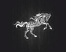 sticker decal car laptop macbook kitchen room horse tribal white bike jdm vinyl