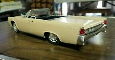 AMT 1962 Lincoln continental annual model kit adult built