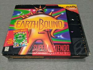 Original Big Box ONLY - Earthbound Authentic Super Nintendo SNES Earth Bound