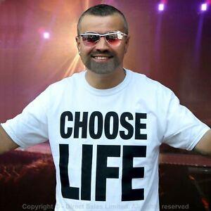 CHOOSE LIFE T Shirt Wham Replica GEORGE MICHAEL 80's Retro Fancy Dress S-3XL Lot