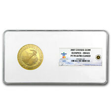 2007 Canada Gold $300 Olympic Ideals PF-70 NGC - SKU #81456