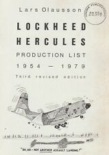 Lockheed C-130 Hercules Production List 1954-1979 by Lars Olausson (1979)
