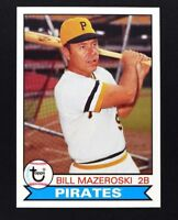 2016 Topps Archives #118 Bill Mazeroski - NM-MT