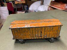 Lionel Standard Gauge - 114 CM&STP Orange Boxcar