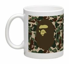 A BATHING APE BAPE MUG CAMO WRAP AROUND PRINT 11 OZ COFFEE