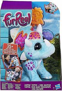FurReal Hoppin' Topper Dino Interactive Plush Dinosaur Pet New Kids Xmas Toy 4+