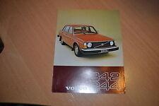 FEUILLET Volvo 242 & 244 de 1977
