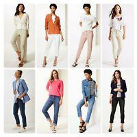 Women`s New M&S Relaxed Slim Leg Mid Rise Jeans UK 8 10 12 14 16 18 20