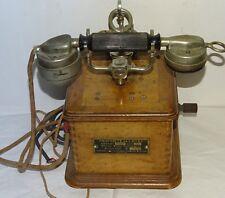 Enfin un téléphone Marty mle1910 avec 3 éléments du 4 janvier 1934