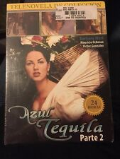"""Azul Tequila Parte 2""'DVD Set EN ESPAÑOL Barbara Mori Spanish NEW Sealed"