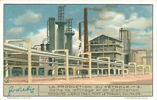 CARD IMAGE 1934: Production Petroleum Petrole Oil refinery Raffinage Distilation