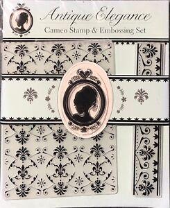 New Cameo Stamp & Embossing Set Folder Ruler By Jennifer Ellory
