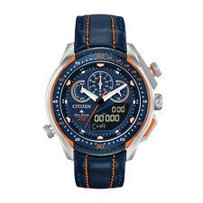 Citizen Anadigi Chronograph Promaster SST Leather Strap Watch Jw0139-05l