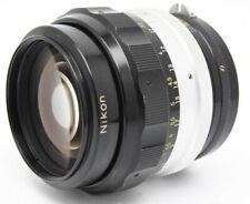 Nikon NIKKOR-H Auto 85mm F/1.8 Lens Excellent No. 254938