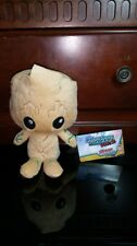 GUARDIANS OF THE GALAXY VOL. 2 - GROOT and ROCKET Lot Funko Hero Plushies NEW