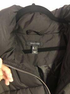 NEW LOOK Black Puffer Jacket