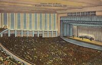 Lafayette INDIANA - Purdue University - Hall of Music - 1940, concert