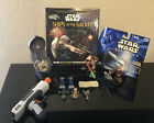 Vintage LOT Star Wars Ships, Ships Of The Galaxy Book, Star Wars Toys 1990s-00s