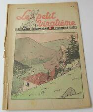 TINTIN HERGE LE PETIT VINGTIEME NO 25 1939 BON ETAT