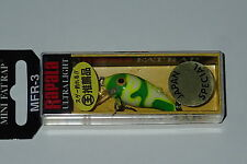 Rapala MFR 3 Chartreuse Camo Mini Fat Rap Japan Special CMCH
