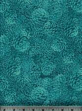 Fabric #1950, Holiday, Blue Pine Cones, RJR Jinny Beyer Sold by 1/2 Yard