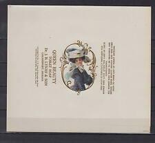 Ancienne étiquette Savon Queen Beauty Femme 2  dimensions 18  cm x 15,5  cm