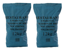 24kg Real Hardwood Restaurant Grade Lumpwood Charcoal For BBQ Barbecues.