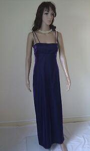 MORGAN Gorgeous Maxi Dress. Shimmering Purple. Evenings Cocktail  SIZE 12
