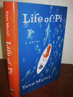 Life of Pi Yann Martel Man Booker Prize Movie Film 1st Edition First Printing