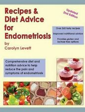 NEW Recipes & Diet Advice For Endometriosis by... BOOK (Paperback / softback)