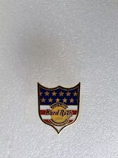 WASHINGTON D.C JULY 4TH 97 SHIELD IN US FLAG COLOR hard rock cafe pin B 17-292