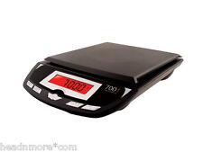 MyWeigh 7001dx NERO 7000g x 1g digitale bilancia bilancia da cucina Bilancia lettera BLACK