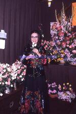 NANA MOUSKOURI 70s DIAPOSITIVE DE PRESSE ORIGINAL VINTAGE SLIDE #39