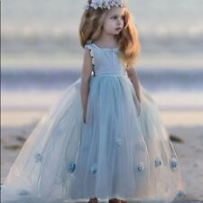NWT Dollcake Moody Blues Frock Dress Girls 4 6 7 Party Holiday Special Photo HTF