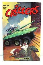 Critters #6 Anthropomorphic 1986 Fantagraphics Books Comics PR