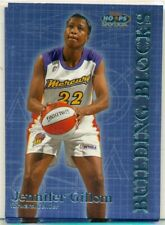 WNBA -WOMEN'S BASKETBALL CARD -HOOPS -BUILDING BLOCKS -JENNIFER GILLOM - #BB 8/8