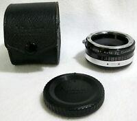 Vintage Nikon Vivitar Auto 2x Custom Tele-Converter Lens Model 2X-3 JAPAN - GOOD