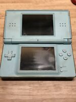 Nintendo DS Lite Handheld System Ice Blue READ DESCRIPTION