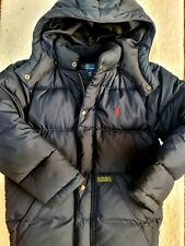 Polo Ralph Lauren Boys Navy Down Jacket_Size S(7)