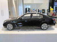 1:18 KYOSHO 08594BK BMW 550i E60 SEDAN BLACK *NEW* GETTING HARD TO FIND!