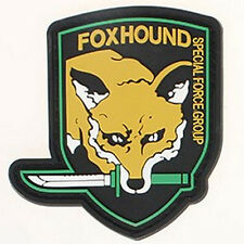USA ARMY Military Fox Hound Morale Badge U.S Specia Force Group PVC Patch