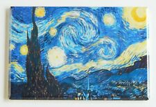 Starry Night FRIDGE MAGNET vincent van gogh painting