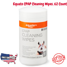 Equate CPAP Cleaning Wipes, 62 Count