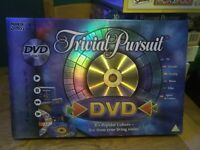 Trivial Pursuit DVD TV Games Pop Culture Board Game / Complete