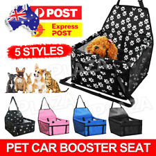 Cat Dog Pet Car Booster Seat Puppy Auto Carrier Travel Safety Protector Basket